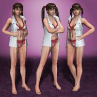 Dead Or Alive 5 Ultimate Leifang Bikini Mix by ArmachamCorp