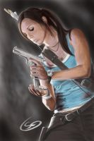 Lara Croft (Tomb Raider) by T-S-L