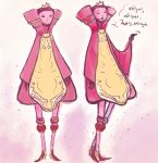 Pink Robed Being by toba122