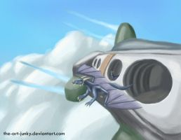 roost above the clouds by the-art-junky