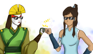 Avatar Fistbump by Perfectlykawaii93