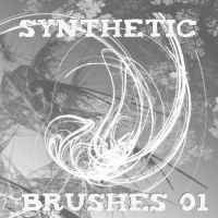Synthetic Brushes 01 by lostwinterborn-stock
