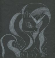 Nightmarity in Chalk by DiscordedIzzy