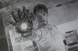 Tony Stark (Iron Man) by Joe-Vega