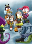 Chaotix: Winter snack by Tigerfog