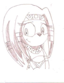 Tikal the echidna 3x by Blackwind06