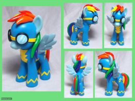 Wonderbolt Dash Custom Toy by CadmiumCrab