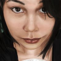 Self Portrait by IndianRose