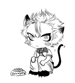 grimmjow the kitty by jiuge