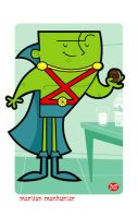 Martian Manhunter by Montygog