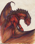 Redstone Dragon by Isvoc