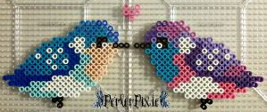 Cute Birds by PerlerPixie