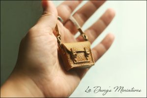Miniature bag scale 1:8 by sakyachan