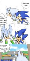 Sonic Comic - HedgehogRacing by chobitsG