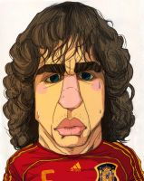 Soccer Spain Puyol by sakiroo