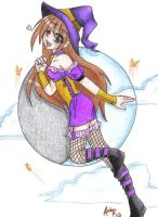 Witch chick by Flos-Abysmi