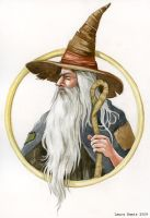 Gandalf by LaurasMuse