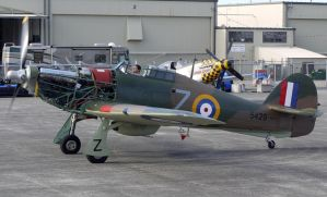 Hawker Hurricane Taxi 2 by shelbs2