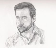 Steve Carell - Uncle Frank by K1D6R4Y
