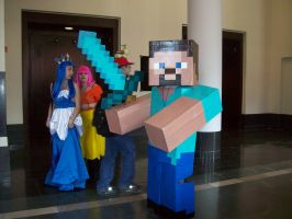 Some Minecraft cosplay by zaidadoves