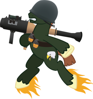 MLP:FIM / TF2 - Soldier by ah-darnit