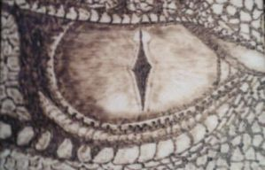 ACEO Dragon Eye by TheTurnerPack