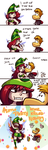 What Betilla and Rayman do in their spare time ... by LizbethLizard