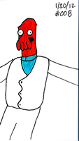 Zoidberg Challenge day 8 by SickSean