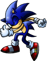 Sonic Thumbs Up by Sonic140