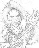 Witchblade by SinisterSorrows
