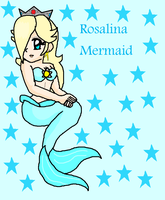 Rosalina Mermaid by Princess-Daisyxox