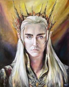 Lord Thranduil by Ainaven