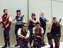 Cosplay (RE1): S.T.A.R.S. Alpha team by AngelicCosplay