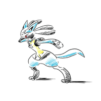 Lucario by Shiny-the-phoenix