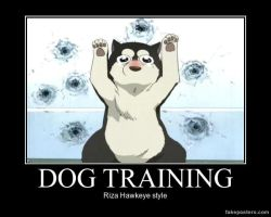 FMA Demotivator: Dog Training by n-trace