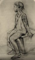 Study of a young girl by MarciP
