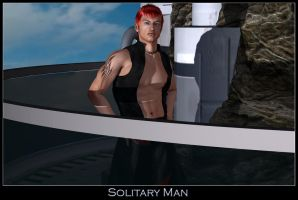 Solitary Man by ExGemini