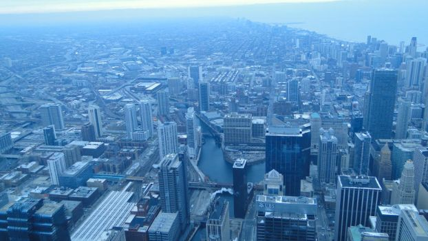Willis Tower, Chicago. (2) by aliohali