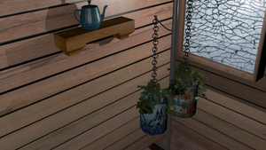 Simple Plant Scene (Completed) by ainjeluv