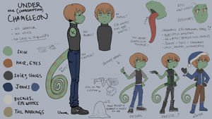Under: The Ref Sheet by UnderneathYourBed