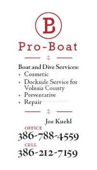 Pro Boat - Business Card Back by lpedreros
