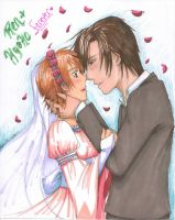 Ren And Kyoko (From Skip Beat) by TheDreamerofSpace