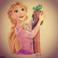 Rapunzel by roselord55