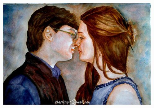 Harry potter and Ginny Weasley by Shashikanta