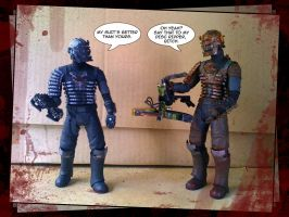 Fun With Action Figures by leksbronks