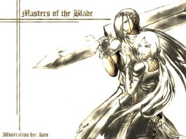 Masters of the Blade Wallpaper by bloody7lunacy