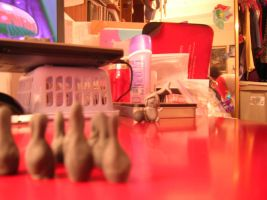 bowling for erasers by AmaltheaTwin