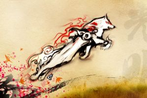 Okami Sketch 9 by GAVade