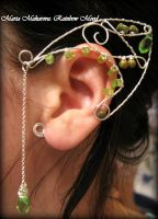 Ear cuff 'Keeper of the Forest' by Madormidera