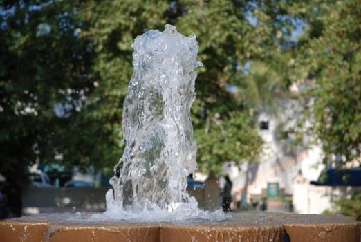 Fountain Splash by That-French-Ginger